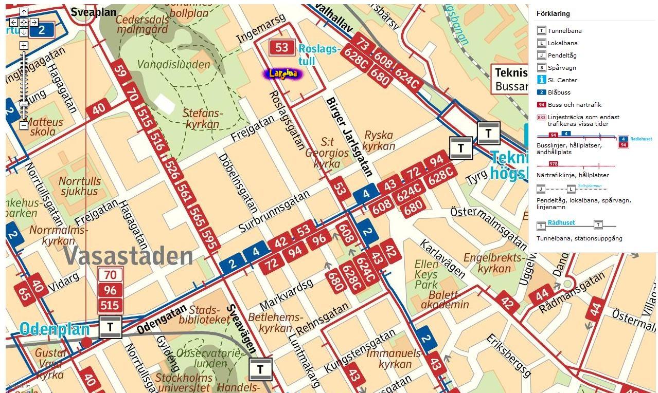 karta odenplan stockholm LaReina PresentDrottningen: Alla vägar bär till LaReina karta odenplan stockholm