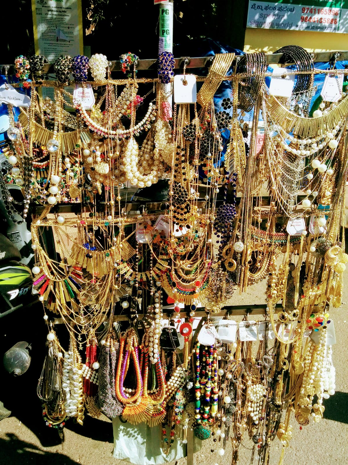 Jewellery Street Action at Kadalekai Parishe, Bangalore