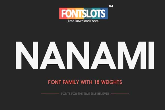 Nanami Font Free Download | Freebies PSD
