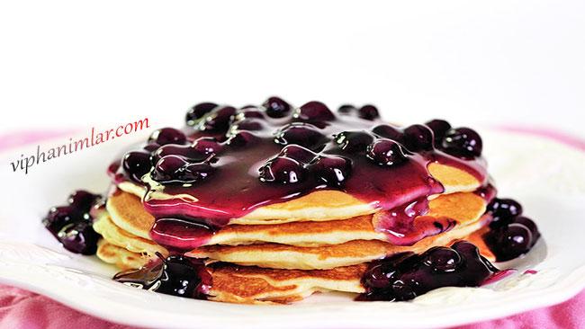 Krep İçin Sağlıklı Bir Meyve Sosu - www.viphanimlar.com