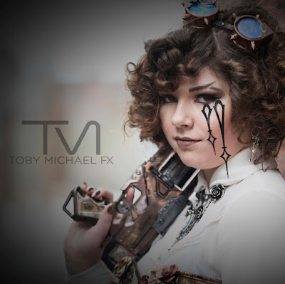steampunk makeup how to DIY add clock hands to your face
