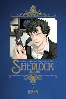 """Review """"Sherlock: El gran juego""""  Ed. Deluxe de Jay, Steven Moffat y Mark Gatiss - Norma Editorial"""