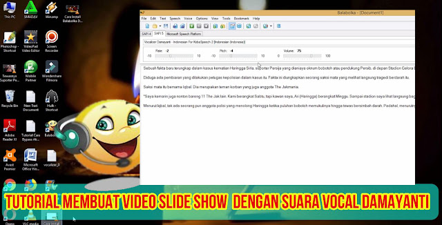 Tutorial,Membuat,Video,Slide Show,Suara,Damayanti,DiMovie Maker