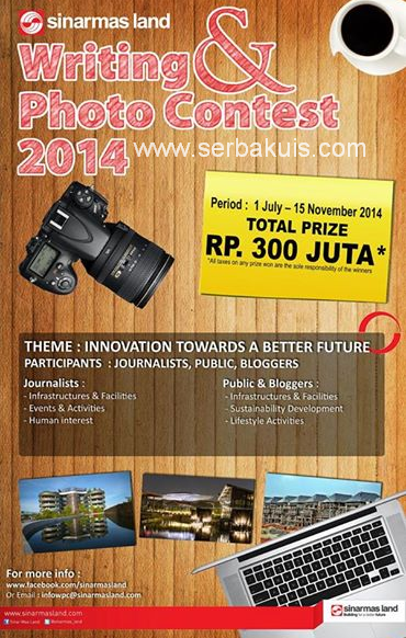 SML Writing & Photo Contest Hadiah Total 300 JUTA