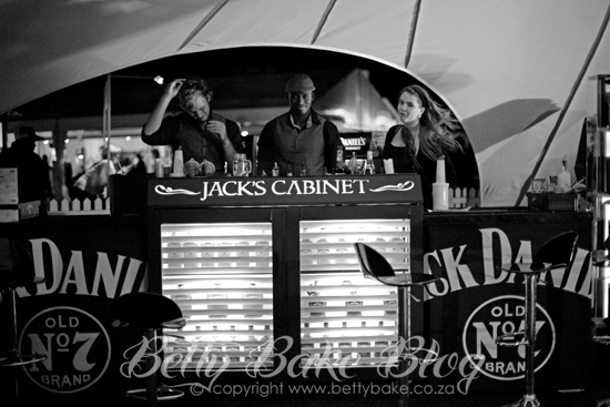 jack daniels, Old No7 , Taste of Cape Town, black and white, betty bake, stall, whisky