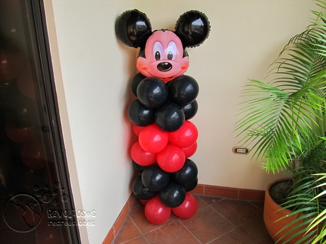 DECORACION FIESTAS INFANTILES MICKEY MOUSE 7 RECREACIONISTAS MEDELLIN