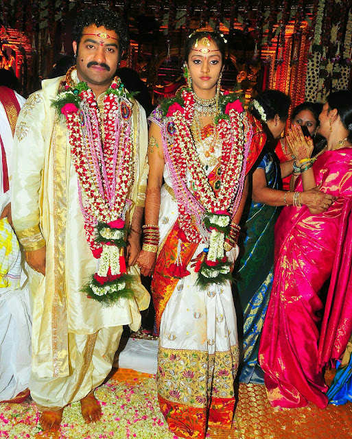 Jr Ntr Marriage Photos