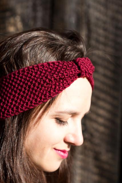 DIY - Stirnband - Perlmuster stricken - Haarband - Turban - selber machen - Anleitung - 02