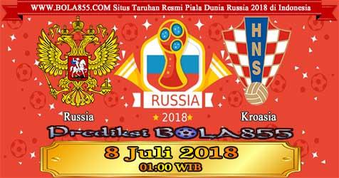 Prediksi Bola855 Russia vs Croatia 8 Juli 2018