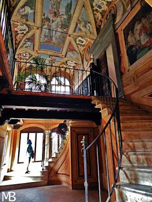 abbazia monte oliveto maggiore biblioteca