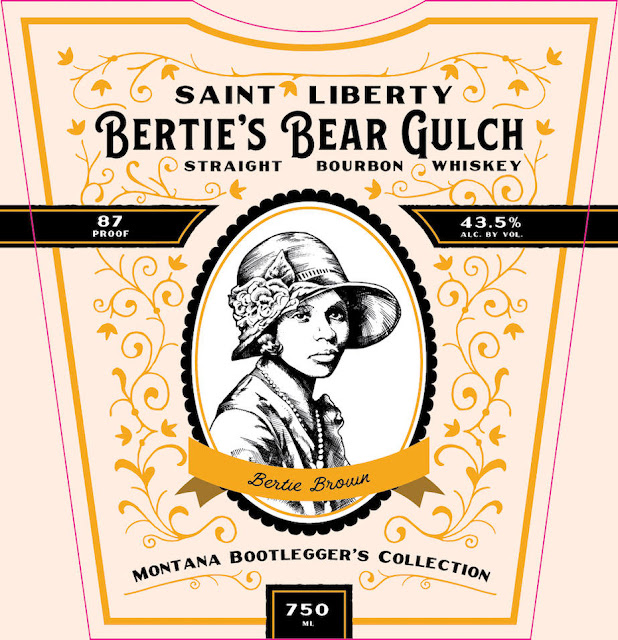 Lolo Creek Distillery - Saint Liberty Bertie's Bear Gulch Straight Bourbon Whiskey