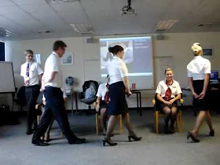 British Airways Flight Attendant Training