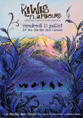 kiwis flambeurs jardin cimes LePueblo concert musique