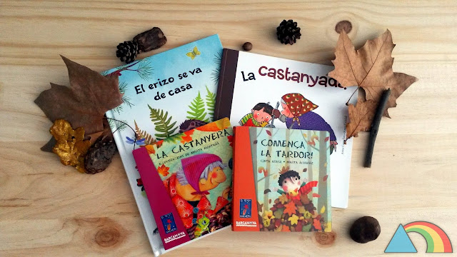 Libros con temática otoñal