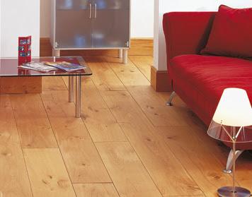 Dřevěná dubová podlaha