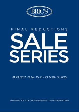 522832bcf90 Presenting Bric's Sale Series, their Season Sale Finale! Enjoy their final  reduction of up to 40% off! EVERYTHING ON SALE! First of their 4-weekend  sale ...