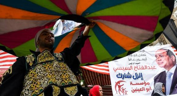 ouled berhil L'Égyptien Sisi réélu aux élections à faible taux de participation.