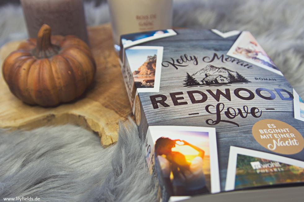 Redwood Love - Es beginnt mit einer Nacht von Kelly Moran - Buchvorstellung