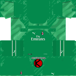 5f1bf8ab2 AC Milan 2019 2020 Kit - Dream League Soccer Kits - Kuchalana