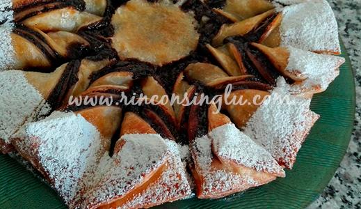 tarta de hojaldre y chocolate sin gluten