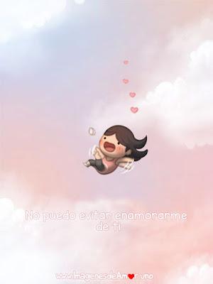 Imagenes tiernas de amor para descargar: niña callendo en el amor