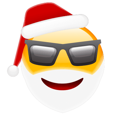 Cool Santa in Shades