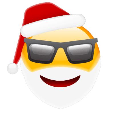 Cool Santa in Shades