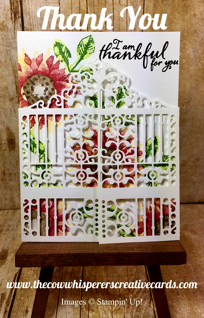 Card, Thank You, Stampin UP, Happy Mail