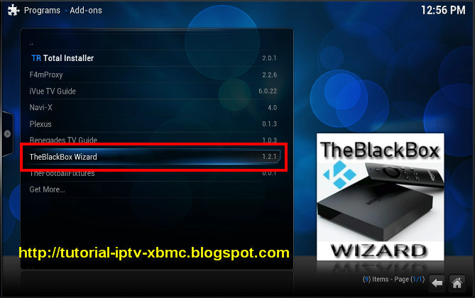 The Black Box Build Amp Wizard Add On For Kodi Or Xbmc New