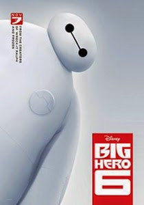 Poster original de Big Hero 6
