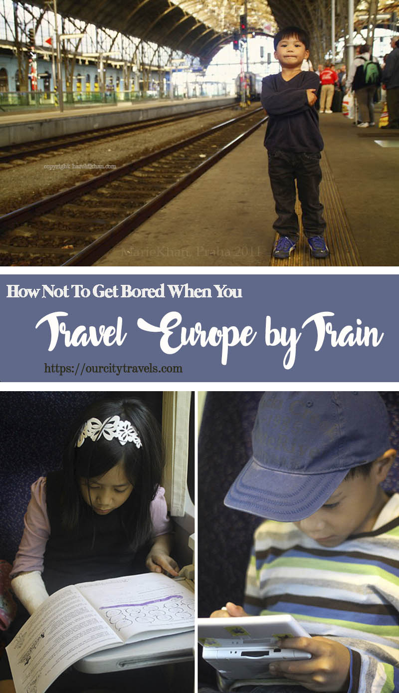 How Not To Get Bored When You Travel Europe by Train