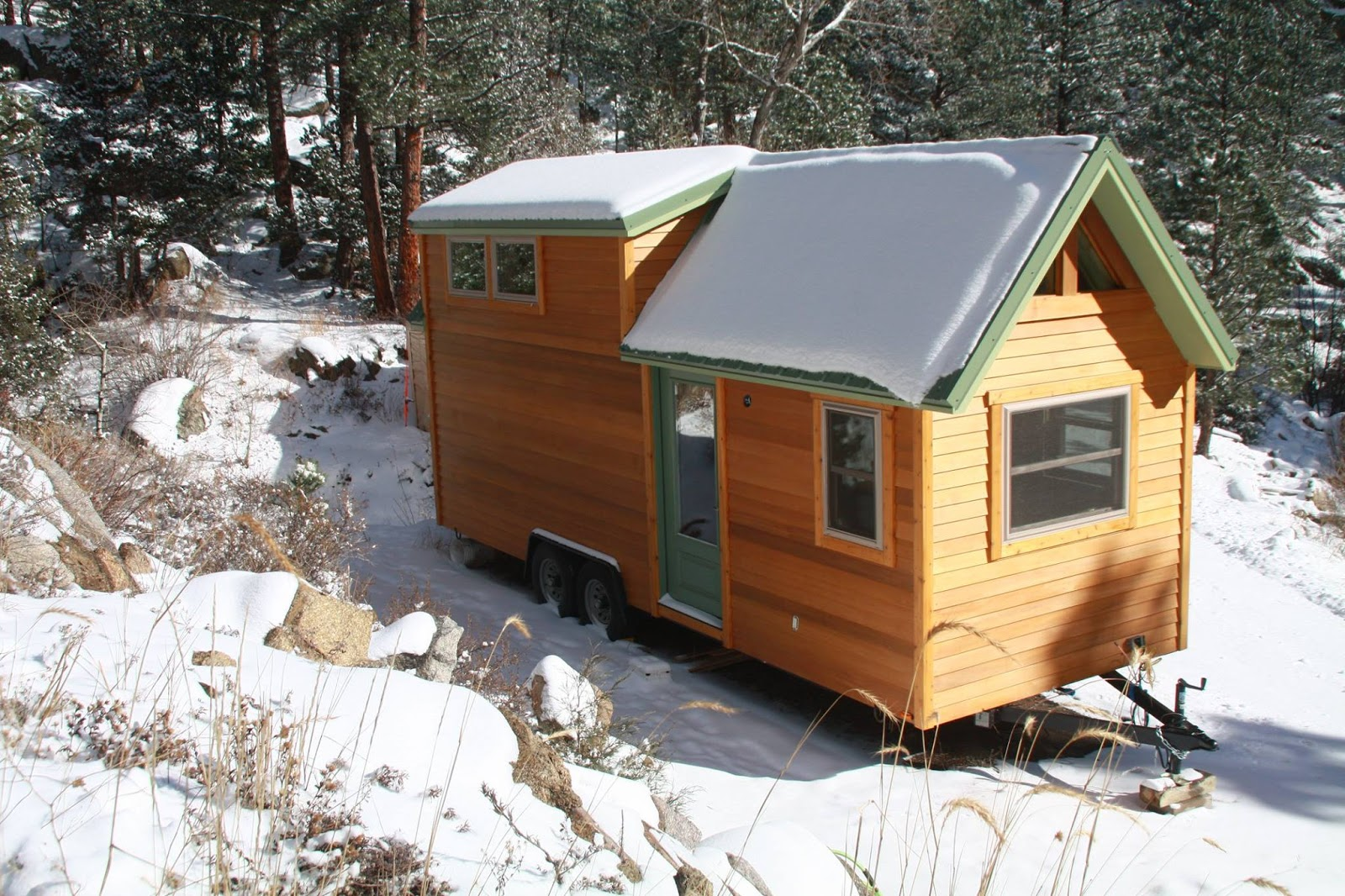 Tiny Home Designs: TINY HOUSE TOWN: Aspen By SimBLISSity Tiny Homes