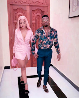 Singer, Diamond Platnumz And His New Girlfriend, Tanasha Step Out In Style