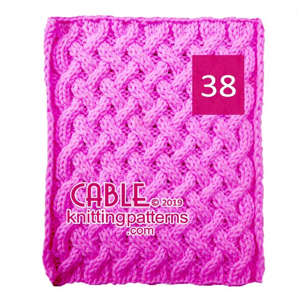 Cable Knitting Pattern 38