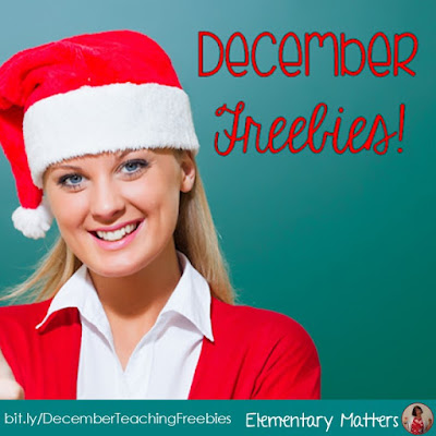 December Freebies: Here are several freebies to help you through the month of December!