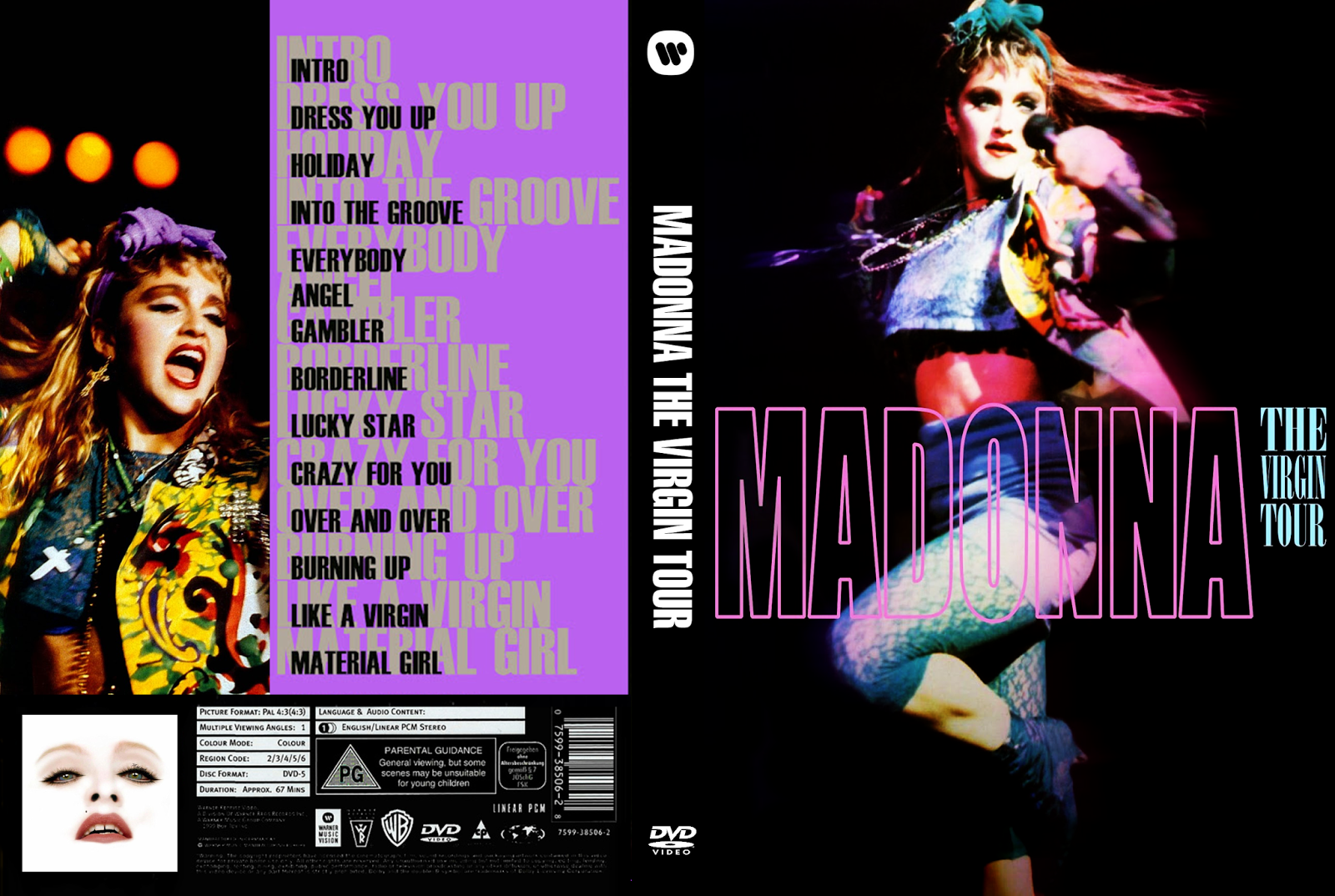 The Virgin Tour Dvd 75