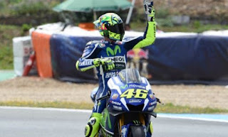 Valentino Rossi Juara MotoGP Jerez Spanyol 2016