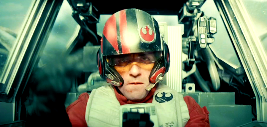 Star Wars: The Force Awakens - Oscar Isaac este un pilot de X-Wing