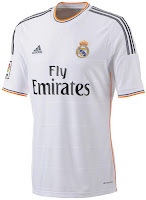 Jersey Real Madrid 2013-2014 terbaru