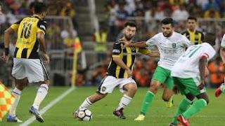 بث مباشر مباراة الاهلي والاتحاد السعودي اليوم 25/11/2018 على قناة KSA Sports HD1 وDawri Plus 1 HD