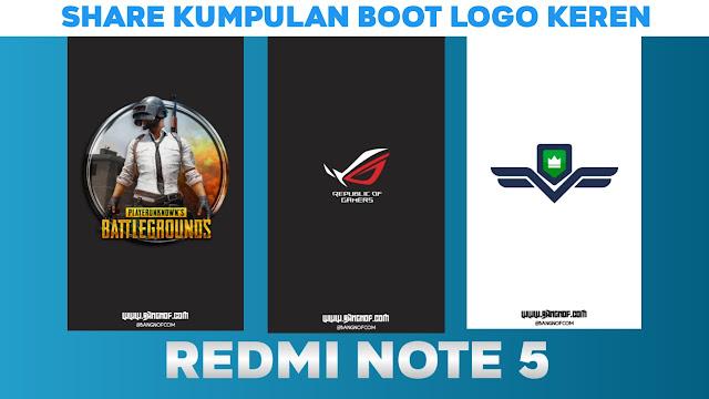 [Update] Share Kumpulan Boot Logo atau Splash Screen android redmi note 5 ( whyred)