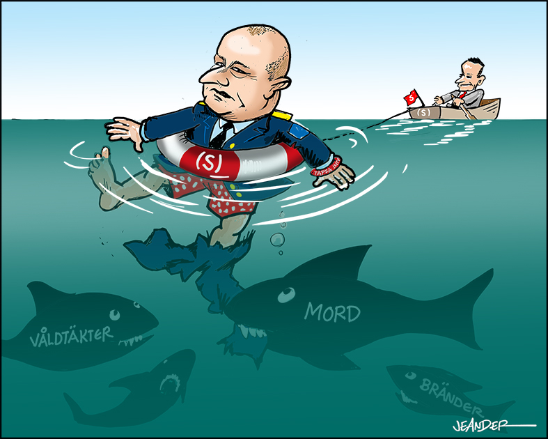 "JEANDERS BILDBLOGG: ""Riskpolischefen"" på djupt vatten..."
