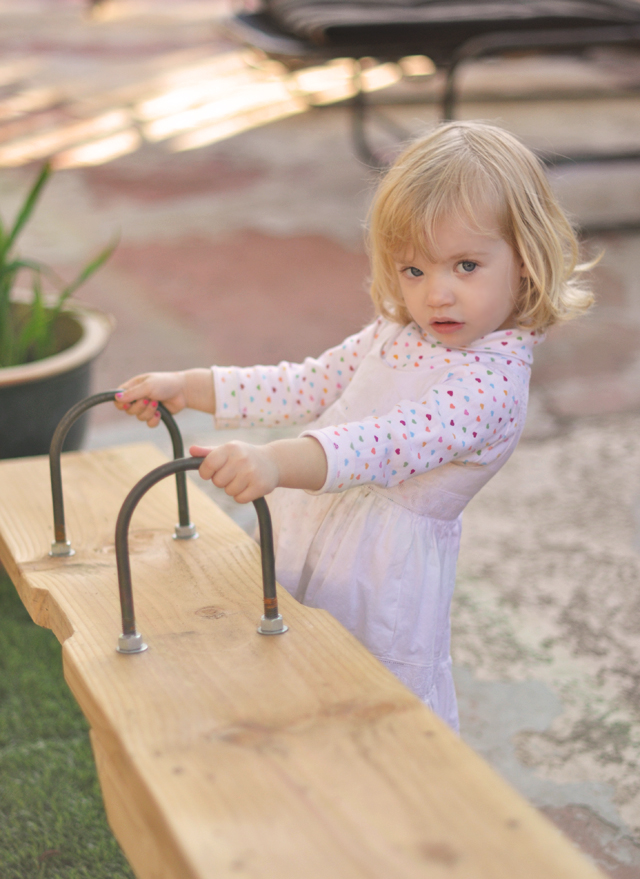 Family Thanksgiving, delilah and the seesaw