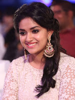Keerthi Suresh New Stills at Rail Movie Audio Launch
