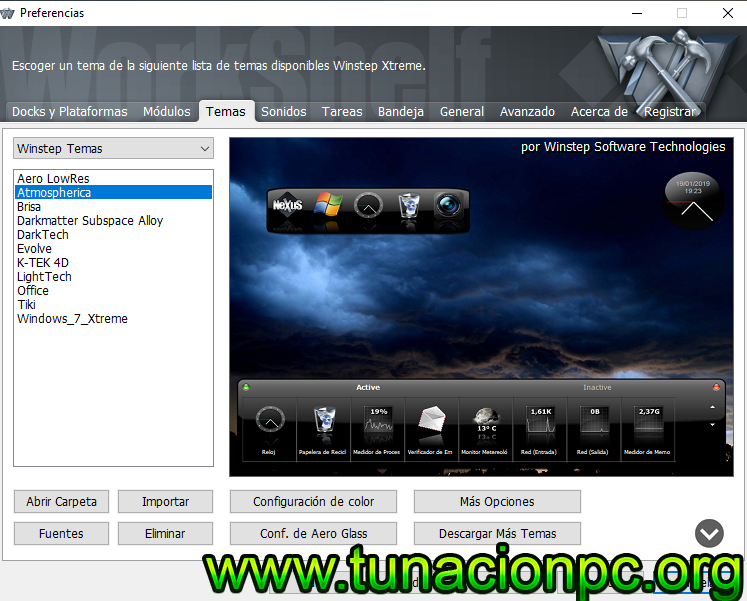 Winstep Xtreme con Serial