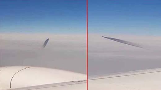 Avión comercial sobre Turquía casi es golpeado por OVNI