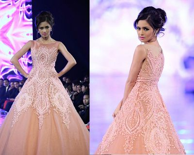 These 9 Celebrities Look Stunning And Gorgeous As Ever In Their Whimsical Peach Gown!