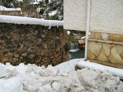 clima, Beceite, nieve, frío, nevada, está nevando, Beseit, neu, toll de rabosa, font de rabosa, rabosa, zorra, zorro