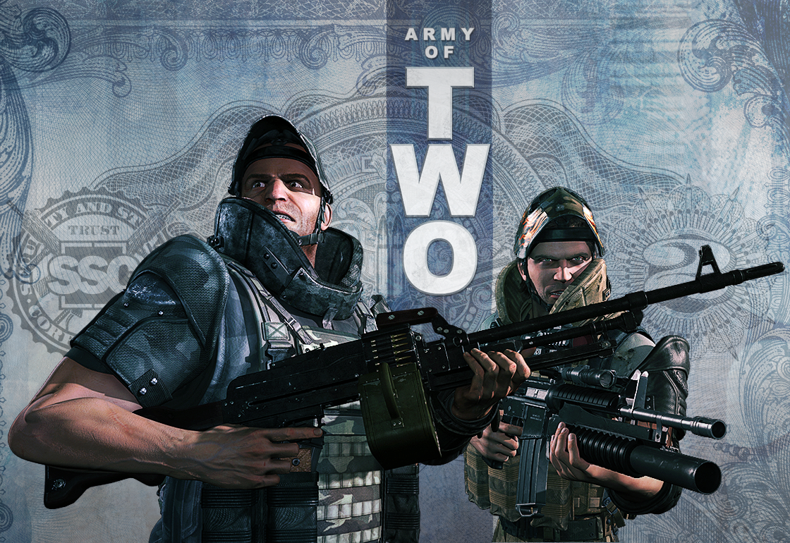 Army Of Two HD Wallpapers The 40th Day