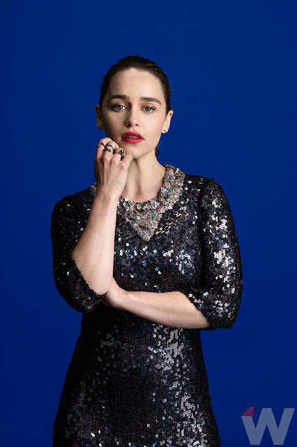 Actress, @ Emilia Clarke - 'Corina Marie Photoshoot for The Wrap 2016